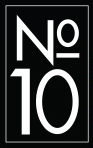 No 10 The Coffee Shop Logo